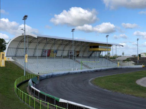 Tribünenüberdachung Speedway-Stadion