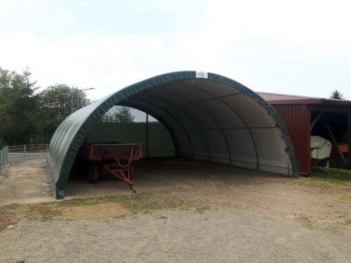 SAS Strohlager / Maschinenhalle